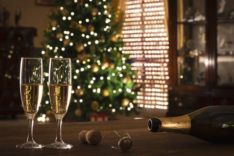 champagne noel